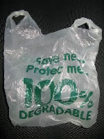 100% Bio-degradable Shopping Bag for groceries and other uses